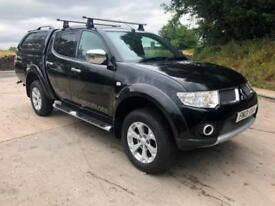 2013 Mitsubishi L200 Barbarian double cab pick up, auto, leather, sat nav