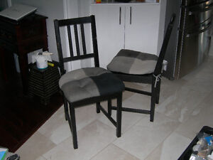 Chairs Pair from Ikea with chair pads $50! Gatineau Ottawa / Gatineau Area image 2