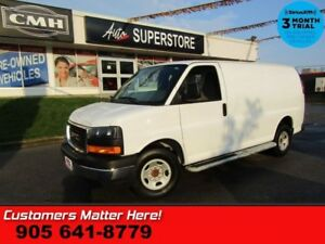 2017 GMC Savana Cargo Van WT  CHROME BUMPERS CAGE BOARDS POWER G