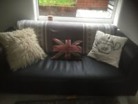 3 month old 3 seater sofa bed and 2 seater sofa £150