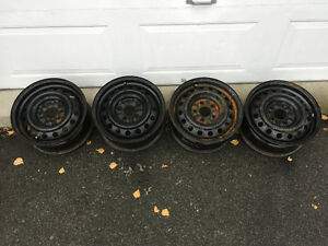 """15"""" rims for winter tires West Island Greater Montréal image 1"""