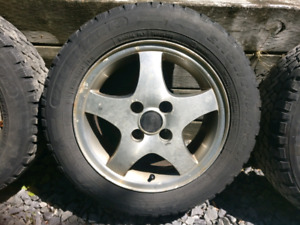Voltswagon 4x100 rims / with tires