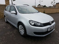 2013 - VW GOLF 1.6TDI ESTATE, 1 OWNER, FULL VW SERVICE HISTORY