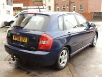 2006 56 KIA CERATO 1.5 LX CRDI 5D 101 BHP DIESEL