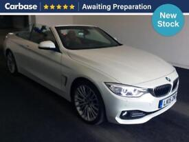 2015 BMW 4 SERIES 425d Luxury 2dr Auto Convertible