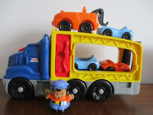 Camion  Transporteur  Little  People  De  Fisher Price  Sonore