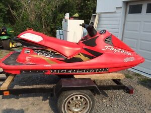 2001 Tigershark 1000 triple seadoo