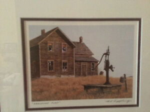 Henry Ripplinger Gallery 3 framed prints of rural Saskatchewan Regina Regina Area image 2
