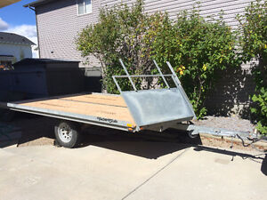 Yacht Club Snow Mobile / ATV Trailer - Drive On / Drive Off