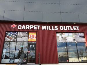 CARPET MILLS OUTLET TILE BLOWOUT SALE!