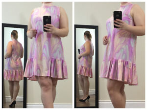 Gorgeous Loose High-Collar Mini Dresses - Come In 3 Colours!
