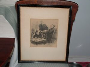 """""""Nothing but the Truth"""" Courtroom LITHO PRINT 1940s-1950s Peterborough Peterborough Area image 1"""