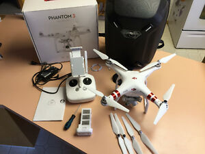 DJI Phantom 3 Advanced Quadcopter Drone for sale. SOLD!