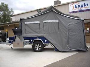 Eagle Hard Floor Rear Fold - Apache Camper Trailer Para Hills West Salisbury Area Preview