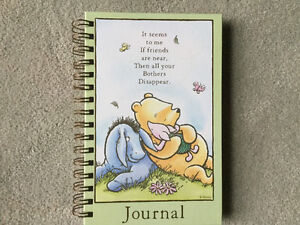 BRAND NEW CLASSIC POOH JOURNAL