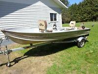 14ft. Aluminum Sea Nymph boat