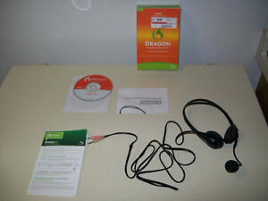 Dragon Speech Recognition Software - Brand New!