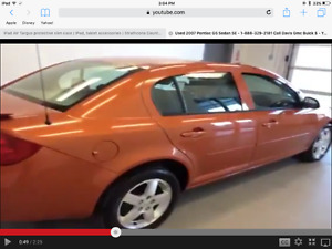 2007 Pontiac G5 GT Sedan ONLY 75k kms!