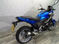 2017 HONDA NC750 XA ADVENTURE WITH ONLY 1479 MILES AND LOWERED