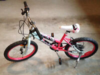 "Brand new 18"" girl's bike"