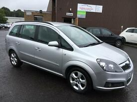 0707 Vauxhall Zafira 16v Club CDTI Grey 7 Seater 76399mls