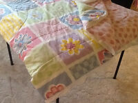 Polyester/cotton Double Comforter & bedskirt