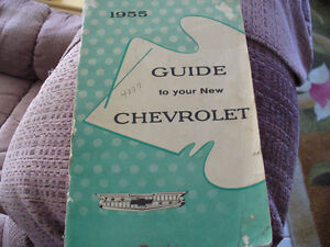 1955 Chevy Owners Manual