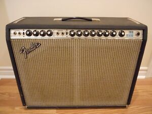 Vintage 1973 Fender Twin Reverb Silverface...