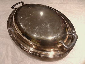 Silver Plated Covered Vegetable Dish Kingston Kingston Area image 1