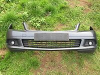 2008 Mercedes c class w204 front bumper in grey complete