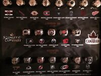 Molson Canadian Stanley Cup Commemorative Rings Set
