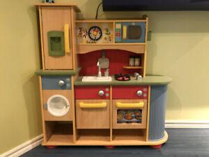 Cuisinière en bois pour enfant