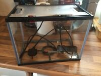 12L glass fish tank for sale