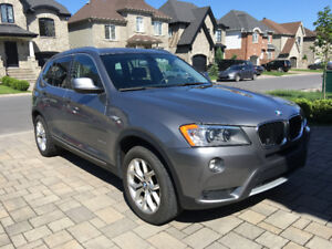 BMW 2013 X3 xDrive28i 95,000 KM Full Warranty till April 30 2019