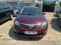 2013 Toyota Avensis 2.2 D-CAT Icon 4dr Auto Saloon Diesel Automatic