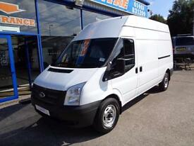 2013 FORD TRANSIT 100 T350 RWD LWB HIGH ROOF - 1 OWNER - FSH - UNDER FORD WARRAN