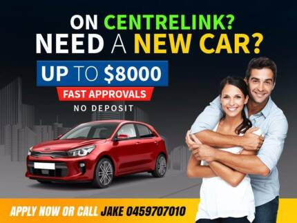 **ARE YOU ON CENTRELINK? NEED A CAR LOAN? WE CAN HELP !**