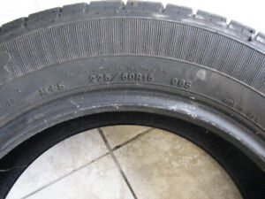 Two Goodyear Integrity Tires 225/60/R16