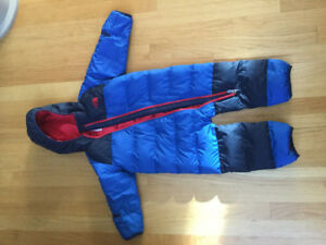 Wow!!Brand New Condition DOWN NORTHFACE Infant Bunting Snuggler