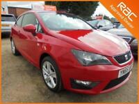 2015 65 SEAT IBIZA 1.2 TSI FR 3DR 105 BHP FINANCE WITH NO DEPOSIT AND NOTHING TO