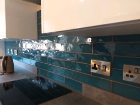 Kitchen and bathroom tiling service