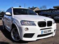 2012 BMW X3 XDRIVE 20D M SPORT AUTOMATIC 4X4 DIESEL 4X4 DIESEL