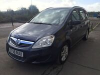 Bargain Vauxhall zafira 7 seater diesel automatic, full years MOT