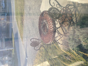 Wrought Iron Decorative table and chairs