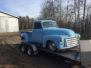 1952 GMC short box on S-10 Frame