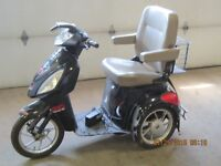 Reduced Mobility 3 Wheeled Scooter