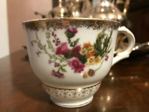 Vintage china tea cups - 10 matching sets