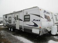 2009 Puma 28BHS Travel trailer`
