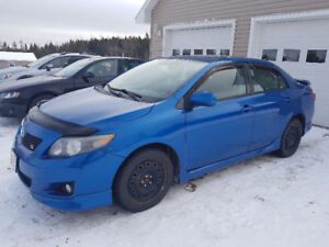 2009 Toyota Corolla S Sport with Sunroof
