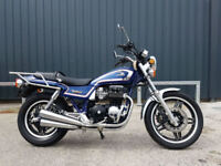 1982 Honda CB650SC CB650 Nighthawk Import Not UK Registered 11,029 Miles